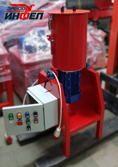 Измельчитель Glasser с двигателем 5,5 кВт укомплектованный под заказ